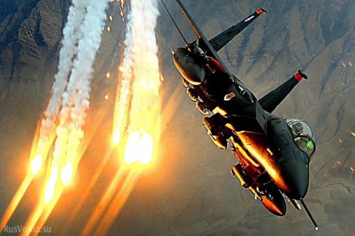 ВВС США нанесли удар по армии Сирии