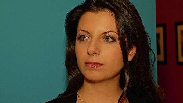 Главный редактор агентства Россия сегодня и телеканала RT Маргарита Симоньян
