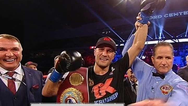 Боксер Ковалев побил в США колумбийца и стал чемпионом мира