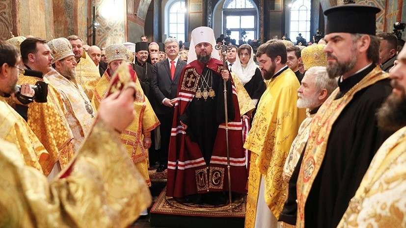 Раскол РПЦ: в Киеве интронизировали предстоятеля самостийной ПЦУ