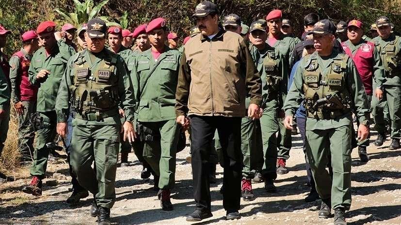 Мятежный венесуэльский генерал ВВС оказался без войск