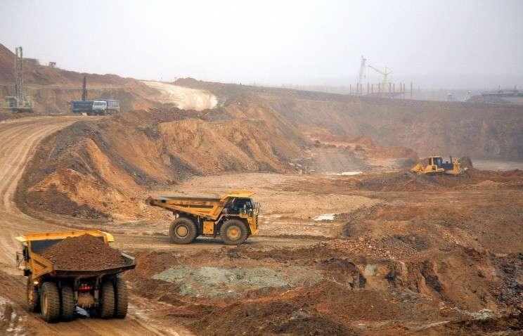 Медный рудник, архивное фото, 2006 год