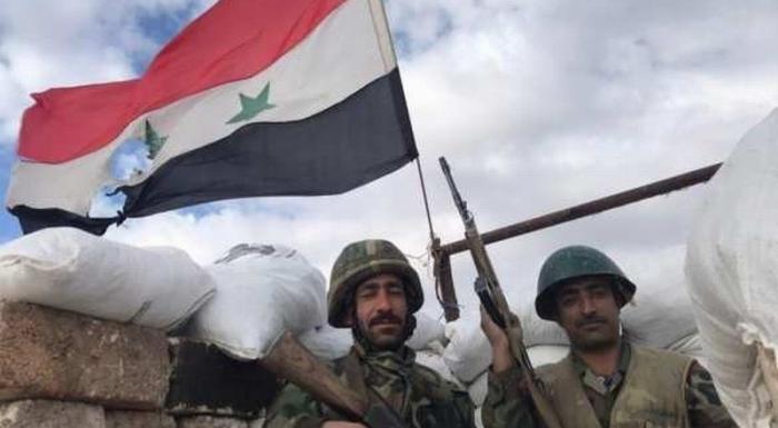 Сирийская армия изгнала силы Коалиции США с важного участка фронта