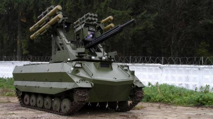 Российские боевые роботы будут уметь действовать в группе и самостоятельно применять оружие
