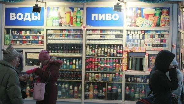 Кабмин РФ выступил за увеличение штрафа за продажу алкоголя детям