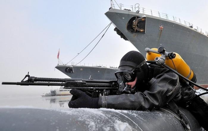 НаСеверном флоте создан новый отряд поборьбе сморскими диверсантами