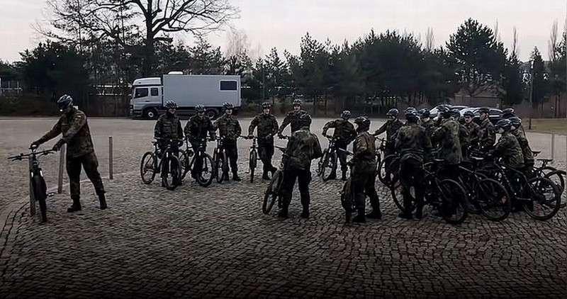 Перевооружение бундесвера: армия Германии получила 21 современный велосипед