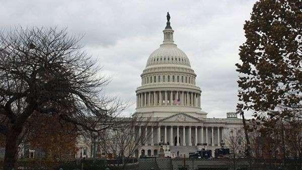 Здание Конгресса в Вашингтоне. Архивное фото