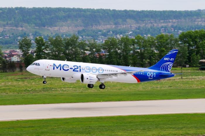 МС-21 начали испытывать в Европейском агентстве по безопасности полётов