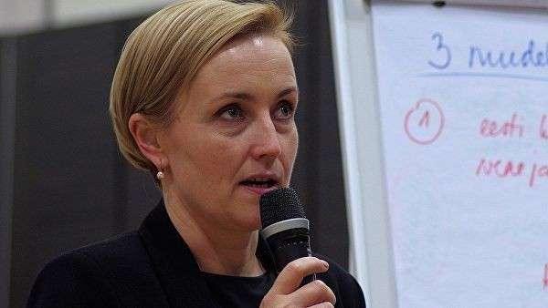 Лидер партии Эстония 200 Кристина Каллас