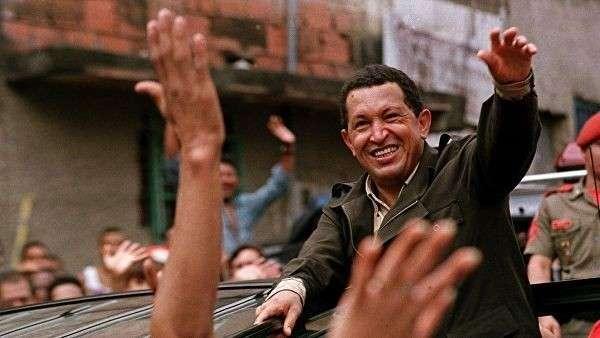 Президент Венесуэлы Уго Чавес. 1999 год