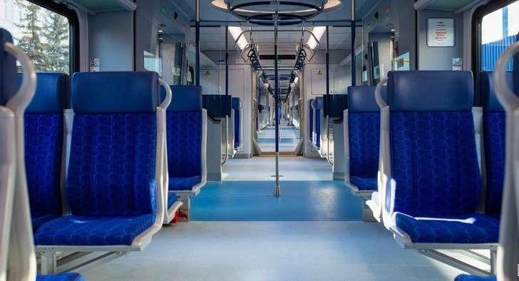 ВМоскве запустили первые поезда «Иволга», разработанные для МЦД