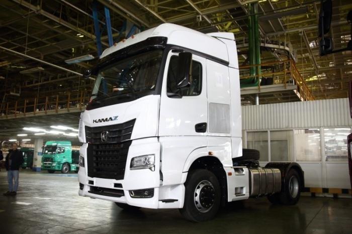 Первый КАМАЗ-54901 скабиной К5 собрали наавтомобильном заводе