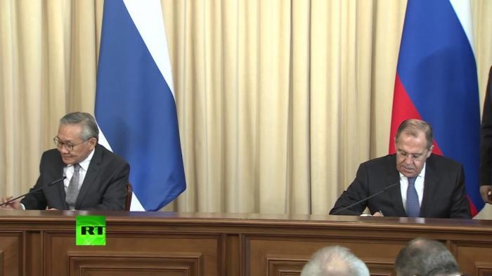 Лавров и глава МИД Таиланда подводят итоги московских переговоров