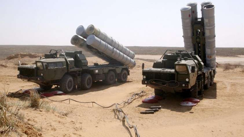 ЗРК С-300 заступают на боевое дежурство в Сирии