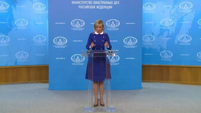 Мария Захарова провела еженедельный брифинг МИД России 07.02.2019