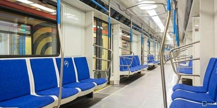 Встоличном метро начались испытания поезда «Москва-2019»