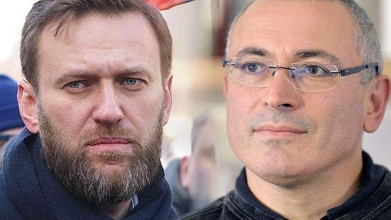 Почему Ходорковский начал травить Навального