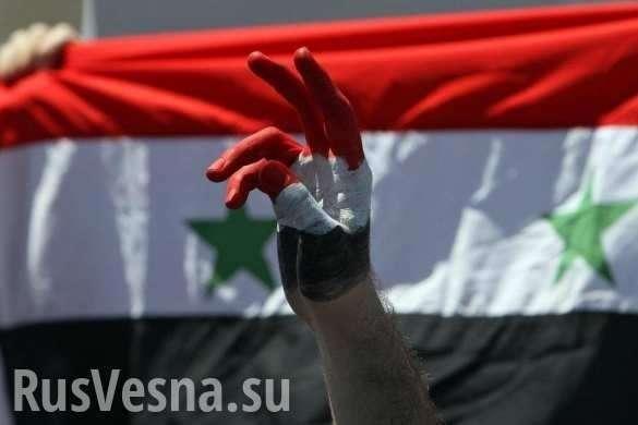 Сирия: племена поднимаются против оккупантов и жгут флаги США | Русская весна