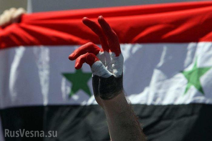 Сирия: племена поднимаются против оккупантов и жгут флаги США