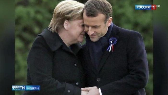 В Европе скандал: Макрон «изменил» Меркель с Трампом