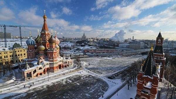 Покровский собор (храм Василия Блаженного) и площадь Васильевский спуск