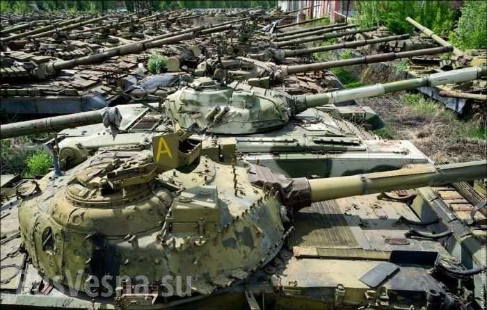 «Танковый каннибализм» охватил Украину
