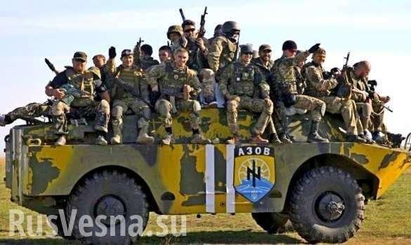 Сводка о военной ситуации в ДНР: Порошенко избавляется от неонацистов на Донбассе | Русская весна