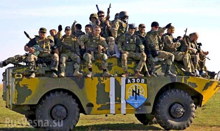 Сводка о военной ситуации в ДНР: Порошенко избавляется от неонацистов на Донбассе