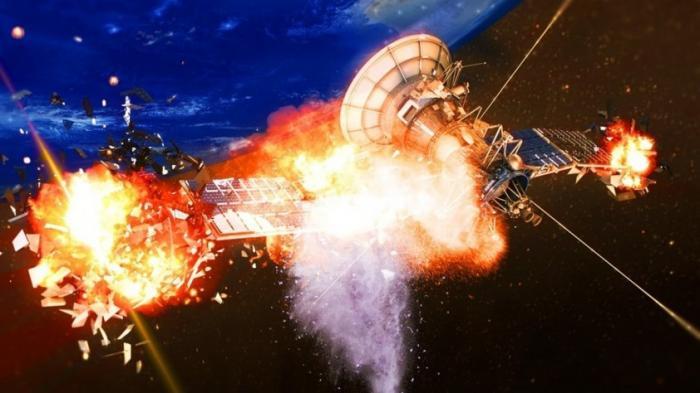 Россия разрабатывает лазерное оружие для уничтожения спутников противника, а также их датчиков
