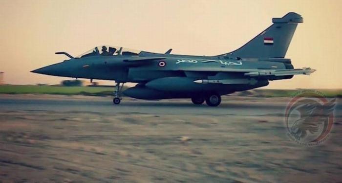 В Египте разбился французский истребитель Rafale во время переговоров по закупке их новой партии