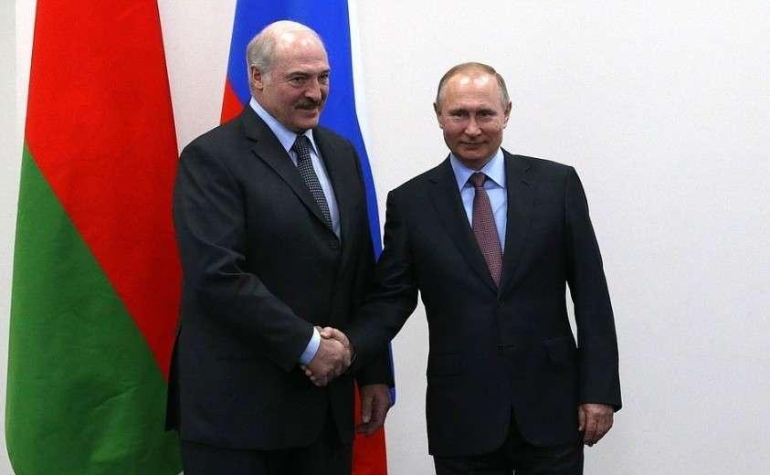 С Президентом Республики Беларусь Александром Лукашенко.