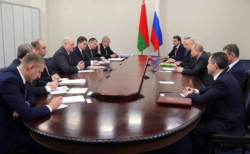 Встреча с Президентом Республики Беларусь Александром Лукашенко.