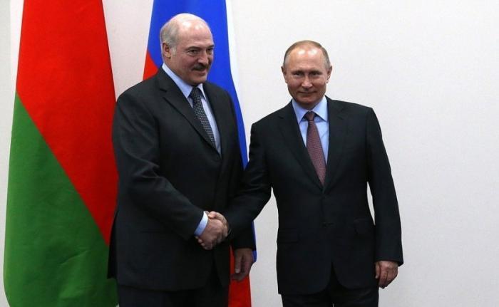 Владимир Путин встретился с Александром Лукашенко, прибывшим в Россию с трёхдневным рабочим визитом