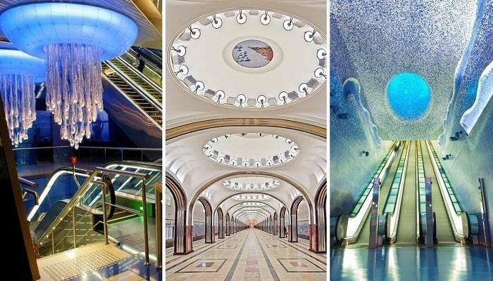 Самые красивые станции метро, по которым хочется бродить часами