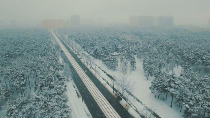 Москва. Зимняя сказка стала кошмаром автомобилистов