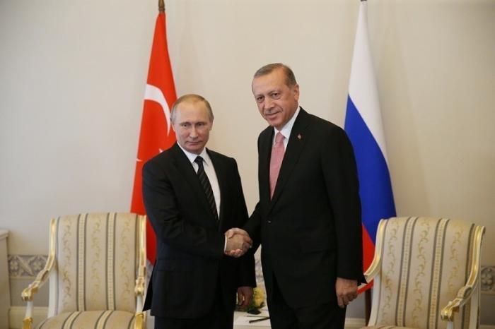 Встреча сПрезидентом Турции Реджепом Тайипом Эрдоганом