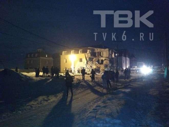 Взрыв в Красноярске и обрушение жилого дома – подробности