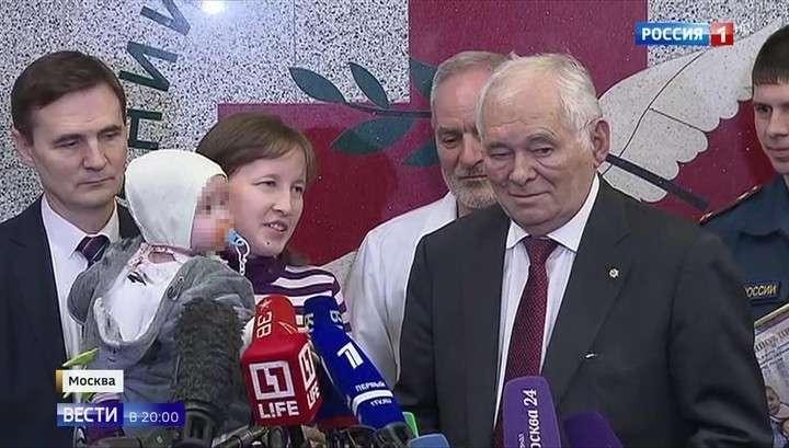Cпасенного в Магнитогорске Ваню Фокина выписали домой