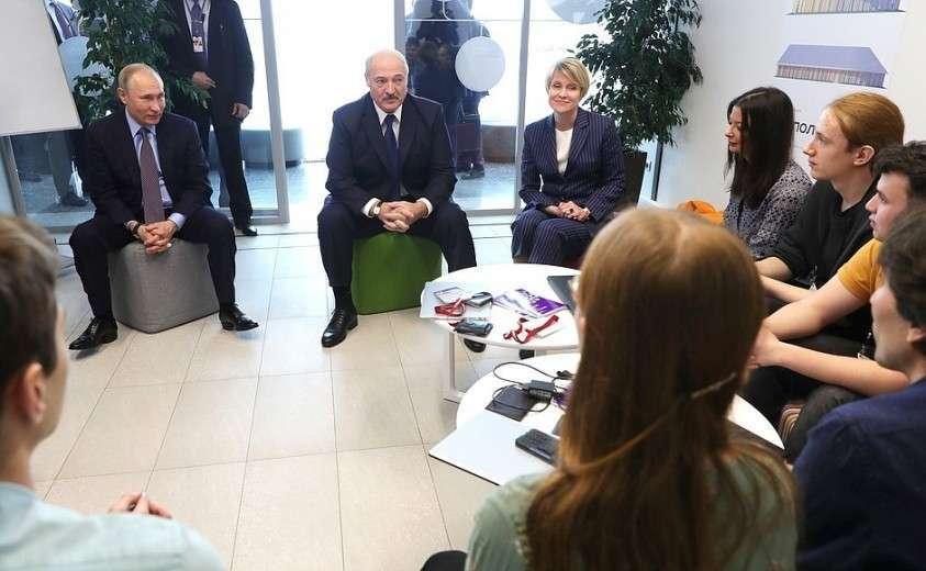 Встреча Владимира Путина с Александром Лукашенко по вопросам развития российско-белорусских связей