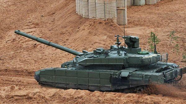 Т-90МС. Видео испытаний новейшего русского танка