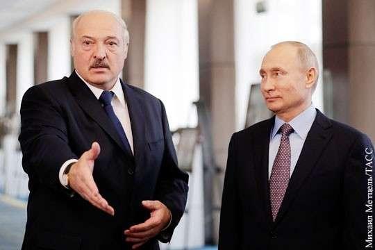 Владимир Путин и Александр Лукашенко готовы идти к объединению