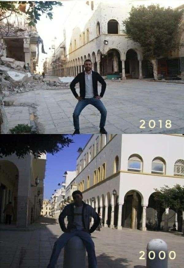 Ливия 18 лет назад и сейчас. Сравнительный Анализ