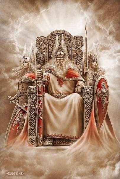 Родные Боги. Картины Игоря Ожиганова