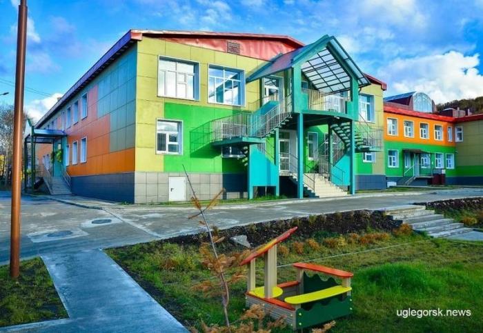 Сахалинской область. Открыт детский сад на200 мест