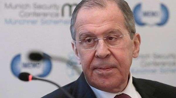 Министр иностранных дел РФ Сергей Лавров на Мюнхенской конференции по безопасности
