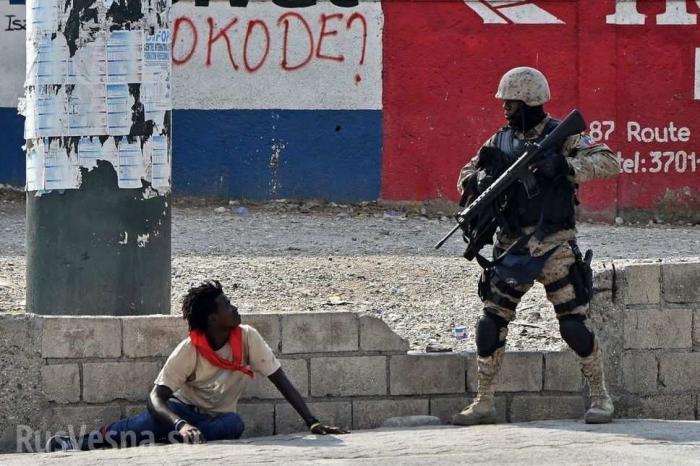 НаГаити задержали группу «неизвестных снайперов»: граждан США, России и Сербии