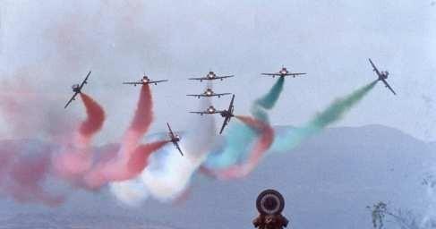 Индия: двавоенных самолёта столкнулись другу другом