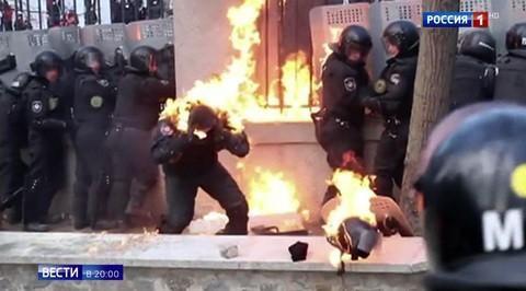Пятая годовщина майдана: оккупацию Украины в Киеве отмечают как победу