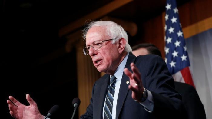 Сандерс намерен бросить вызов Трампу в 2020 году